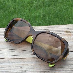 Coach sunglasses women's Emma Tortoise 57-17-135